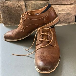 Steve Madden brown leather shoes